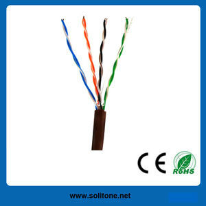 Cat5e UTP/FTP/SFTP LAN Cable for Computer (ST-CAT5E-UTP) pictures & photos