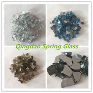Colored Decorative Fire Pit Glass Chips pictures & photos