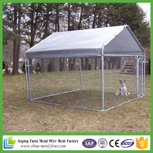 Hot Dipped Galvanized Welded Outdoor Dog Cage pictures & photos