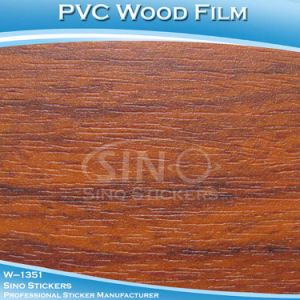 Water Proof Stretch PVC Material Wood Furniture Sticker