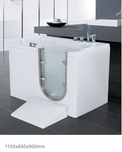 High Quality Acrylic Safety Bathtub for Old People and Disabled People (BNG1003A)