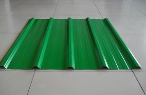 Green Steel Corrugated Galvanized Roofing Sheet for Building Materials pictures & photos