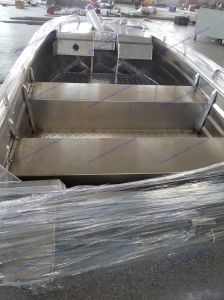 Speed Fast Aluminum Alloy Boat in Big Sea pictures & photos