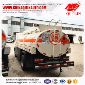 Max Speed 80km/H Storehouse Euro 4 Oil Tank Truck for Sale pictures & photos