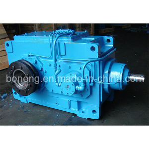 Bevel-Helical Gearbox with Shrink Disc pictures & photos