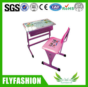 Cute Lovely Design Height Adjustable Kids Study Table Chair pictures & photos