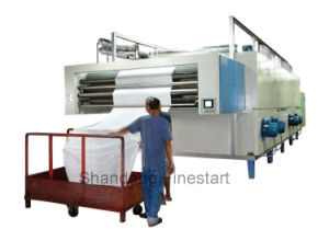 Textile Machine Three Pass Fabrics Dryer for Sale pictures & photos