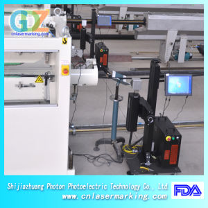 20W Fiber Laser Marking Machine with Ipg Laser for Pipe, Plastic, PVC, PE and Non-Metal pictures & photos