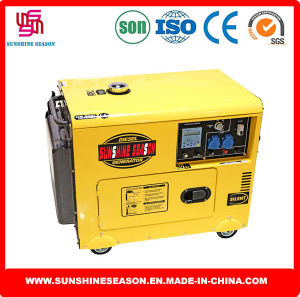 6kw Silent Design Diesel Generator for Home & Power Supply pictures & photos