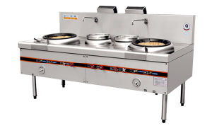 Yudian Style Two Fryer and Two Boiler (006)