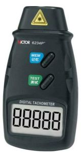 Non-Contact Digital Laser Tacometer