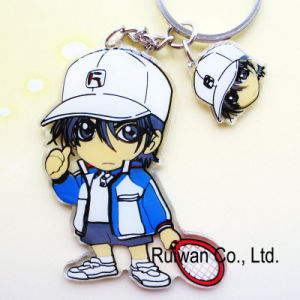 Wholesale Cartoon Acrylic Keyring (KCA099) pictures & photos