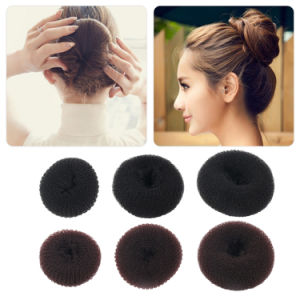 Manufacture for Plate Hair Donut Bun Maker Magic Foam Sponge pictures & photos