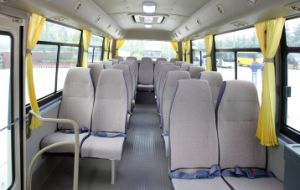Long-Distance Transport Coach Small Type 7-8m 20+1seats pictures & photos