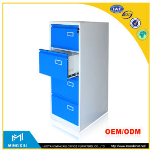 Mingxiu Low Price 4 Drawer Vintage Metal Cabinets / Steel Customized File Cabinet pictures & photos