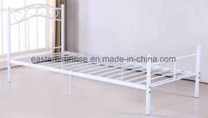 High Quality Low Price Steel Metal Single Bed for Kids pictures & photos