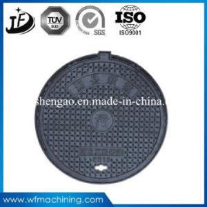 Resin Coated Sand Casting Manhole Covers with Customized Machining Service pictures & photos