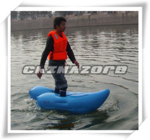 Blue Color PVC Tarpaulin Airtight Water Walking Shoe Cheap Price pictures & photos
