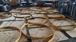 Hdt 2-Piece Lock Ring 49′′ 57′′ 63′′ for Mining Wheels pictures & photos