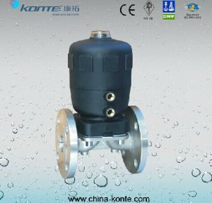 Pneumatic Flanged Diaphragm Valve pictures & photos