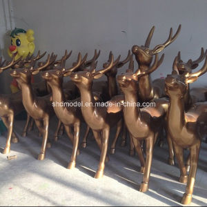 Resin Animal Craft for Decoration (deer) pictures & photos