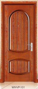 Competitive Interior Solid Wooden Door (WX-VP-101) pictures & photos