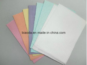 33*45cm Disposable Dental Bib China Biggest Dental Bibs Supplier pictures & photos