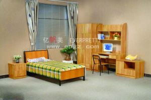 New Western Style Dormitory Furmiture Student Bed with Drawer pictures & photos