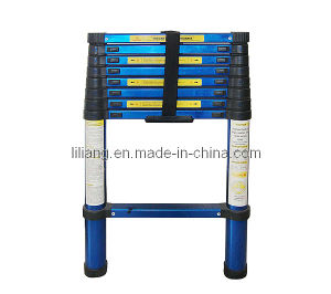 2.6m Aliminum Telescopic Ladder pictures & photos