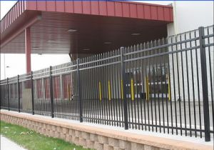 High Security Ornamental Steel Fence (XM3-26) pictures & photos