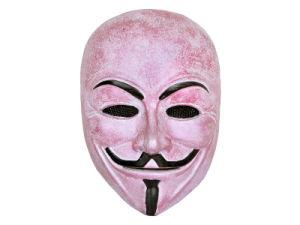 """′numen′ Fiberglass Metal Mesh """"V for Vendetta"""" Full Face Mask"""