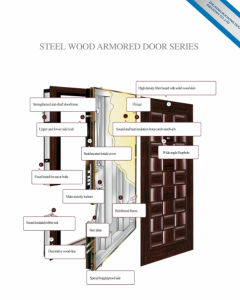 Steel Wooden Door (LT-102) pictures & photos
