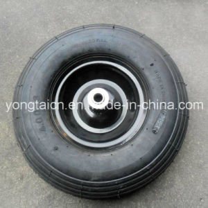 13inch 4.00-6 Metal Rim Air Pneumatic Wheel for Wheel Barrow pictures & photos