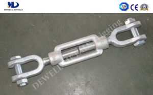 Galv. DIN1480 Jaw and Jaw Turnbuckle pictures & photos