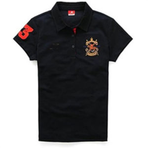 Fashion Nice Cotton. Polyester Embroidery Golf Polo Shirt (P022) pictures & photos