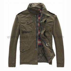 Winter Fashion Outwear Cotton Nylon Men′s Padding Jacket (GT99501) pictures & photos