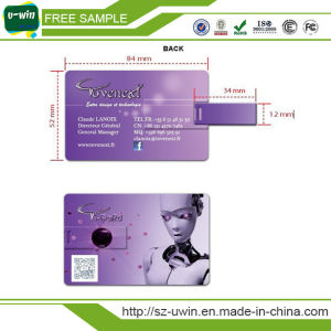 Custom Printing Promotional Gift Credit Card USB Flash Drive pictures & photos