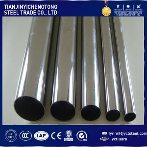 ASTM TP304 Stainless Steel Pipe Welding Tube pictures & photos