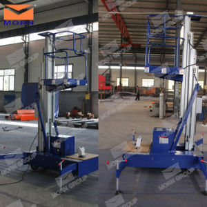 Mobile Hydraulic Aluminum Lift for One Man pictures & photos