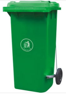 Green Dustbin Plastic (240Lt) with Pedal pictures & photos