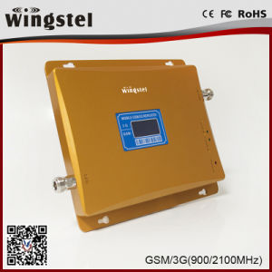 Dual Band GSM 3G 900/2100MHz Mobile Signal Booster with LCD pictures & photos