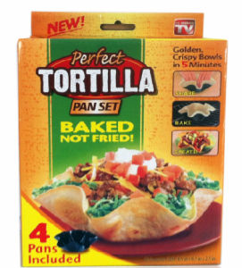 New Non-Stick Perfect Tortilla Pan Set, Food Keeper, Fresh Keeper (TV328) pictures & photos