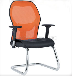 Hot Sale Modern Cheap Leather Mesh Visitor Meeting Chair (SZ-OC161) pictures & photos