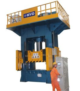 1000 Ton Double Acting Deep Drawing Hydraulic Press for H Type Hydraulic Press Machine 1000t pictures & photos