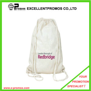 Eco-Friendly and High Quality Wholesale Cotton Fabric Drawstring Bag (EP-B9110) pictures & photos