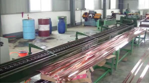 Auto Hydraulic Cold Drawing Machinery Copper Rod and Busbar Drawing High Automation Big Capacity Machine F