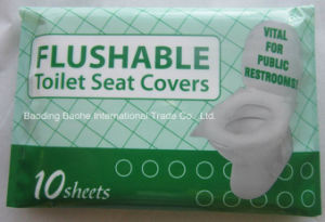 Flushable Toilet Seat Cover (travel pack) pictures & photos