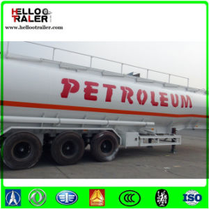 42cbm Fuel Tanker Trailer with Common Mechanical / Air Suspension pictures & photos