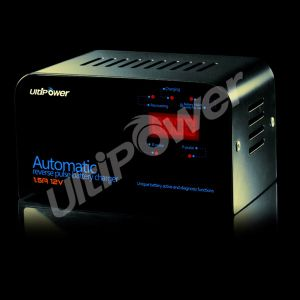Ultipower 6V/12V Automatic Desulfation Lead Acid Battery Charger