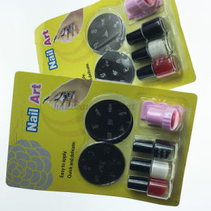 Wholesale Nail Art Manicure Stamping Plates Polish Kit (SNA20) pictures & photos